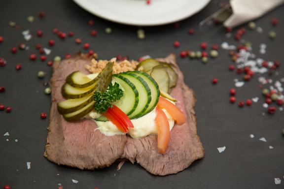 Veislulist Smurbrauð Roost-beef