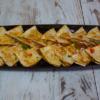 Veislulist. Quesadilla kjúklingabaunir, nýrnabaunir, spínat og salsasósa Vegan. (ca 55gr 1st)
